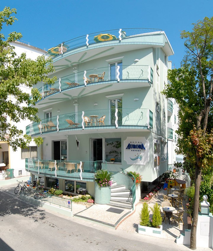 Hotel Cattolica 3 Stelle Sul Mare All Inclusive - Hotel Aurora